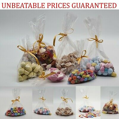 £2.55 • Buy Clear Cellophane Display Favour Treat Candy Cake Pops Sweets Party Cello Bags