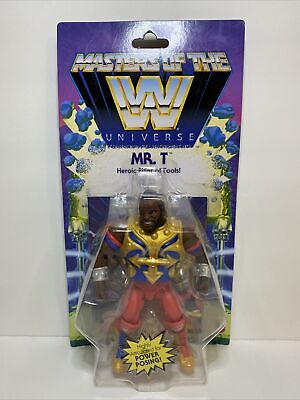 $45 • Buy Mr. T Heroic Pitier Of Fools Masters Of The Universe WWE Wave 4 Action Figure