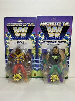 $68.99 • Buy WWE Masters Of The Universe Mr T And Jake The Snake