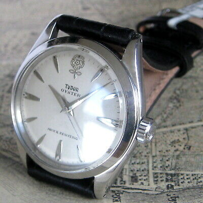 AU742.70 • Buy Mens 1963 Rolex TUDOR OYSTER Stainless Steel Ref. 7934 Vintage Swiss Made Watch