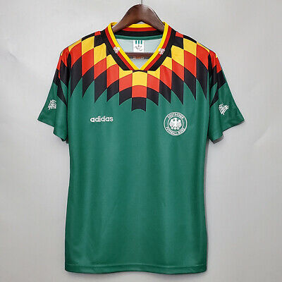 Retro Football Shirt Germany Away Jersey 1994 World Cup • 28.99£