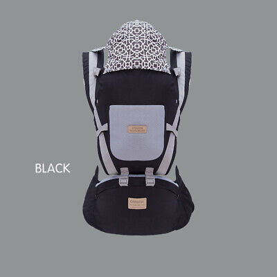 9 In 1 Ergonomic Baby Carrier With Hip Seat Stool Backpack For All Seasons BB258 • 16.10£