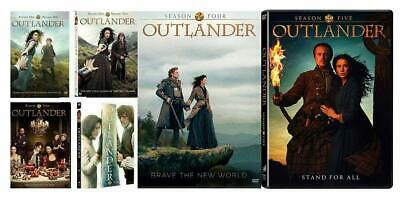 AU93.99 • Buy Outlander DVD Seasons 1 5 Series 1 2 3 4 5 Box Set Brand New Sealed