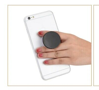 AU3.99 • Buy PopSockets PopGrips For Phones And Tablets - Black (800470)