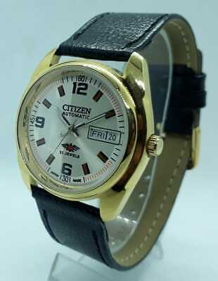 $ CDN37.68 • Buy Vintage Citizen Automatic Movement No. 8200 Stainless Steel Men's Watch