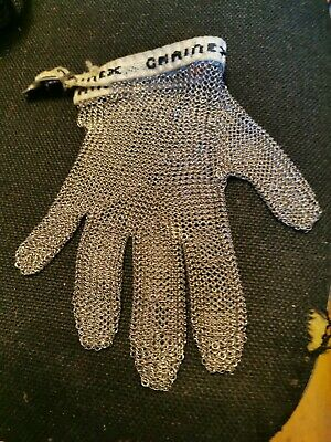 Chained Chainmail Stainless Steel Safety Glove • 40£
