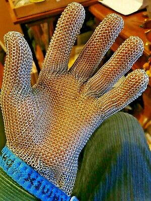Stainless Steel Chainex Chainmail Safety Glove • 40£