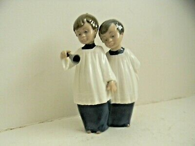 Nao By Lladro Gloss Two Choir Boys Figurine • 12.50£