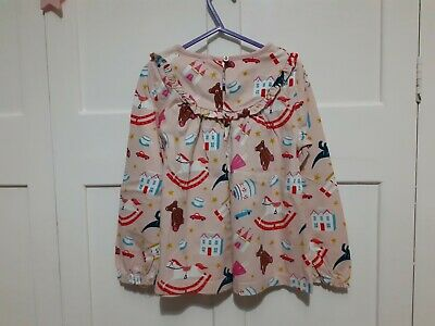Mini Boden Long Sleeved Top Toy Box Design Age 6-7 Excellent Condition  • 8£