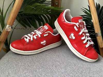 AU39.99 • Buy Adidas Originals Stan Smith Valentines Day Sneakers Womens Size US 6 Red Shoes