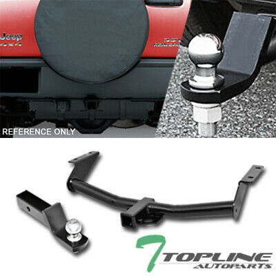 $147 • Buy Topline For 2002-2007 Jeep Liberty Class 3 Trailer Hitch Receiver 2 +Ball Mount