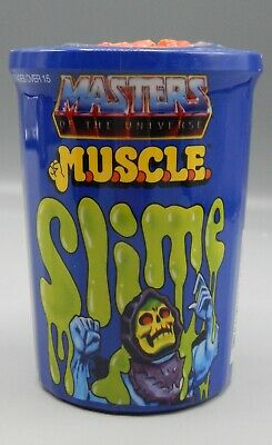 $60 • Buy 2016 Super 7 MASTERS Of The UNIVERSE Powercon MUSCLE Slime MOTU Toy SEALED Can !