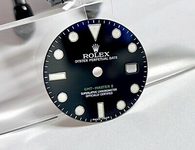 $ CDN491.40 • Buy .Authentic Rolex GMT Master II 116710 Glossy Black Maxi Dial #5