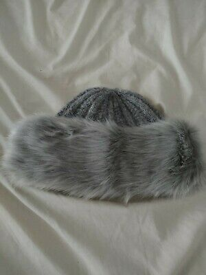 New Peter Storm Women's Camilla Fur Trim Hat • 5£