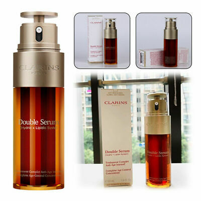Clarins Double Complete Serum Firming 50ml Control Aging Anti Age Concentrate Uk • 11.89£