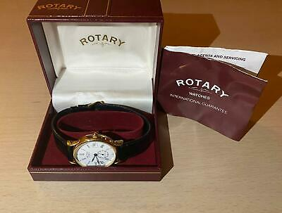 Rotary Watch Vintage Brand New Original Box And Papers • 49.99£