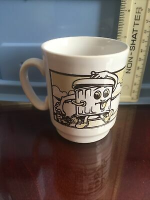Retro Vintage Keep Britain Tidy Mug, Cartoon Dusty Bin (1/21) • 4.75£