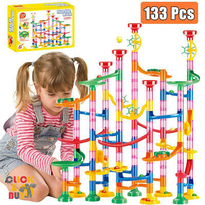 AU16.90 • Buy Marble Run Race Railway Building Blocks Fun Best Educational Toys For Gift Kids