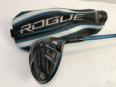 $ CDN151.50 • Buy Callaway Rogue 15* 3 Wood Project X Even Flow 75g 6.0 Stiff W/ Headcover 45""