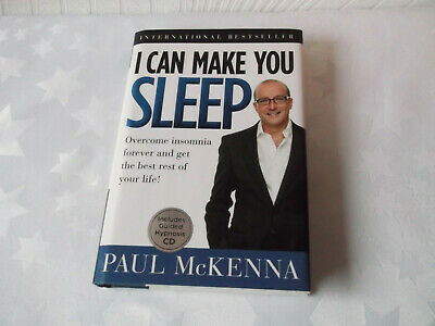 I Can Make You Sleep, Overcome Insomnia Forever By Paul McKenna Book & Audio Cd • 10£
