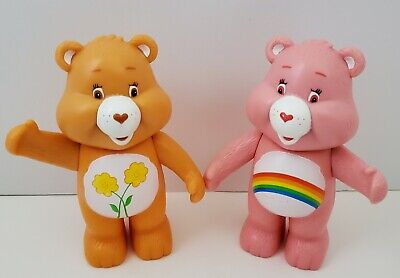 £8.77 • Buy Care Bears Lot Of 2 Friend Bear Cheer Plastic Rattle Figures 2003 TCFC Toy 4
