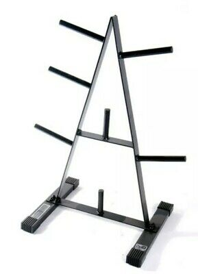 """$ CDN109.66 • Buy CAP Barbell Weight Plate Rack For 1-Inch Weight Plates """"In Hand"""" """"Ships Today"""""""