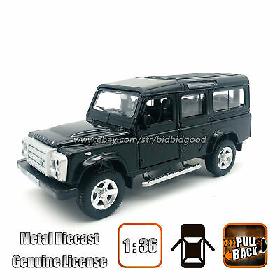 UNi 1/36 LAND ROVER Defender Alloy Diecast Vehicle Pull Back Model Car Toy Kids • 7.77£