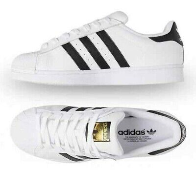 AU89.99 • Buy ADIDAS Superstar Men's Leather Trainers Sneaker Shoe US8 UK7.5 EU41.3 RRP $150