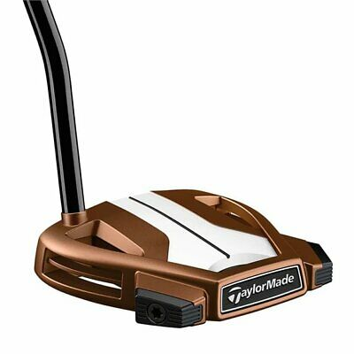 AU232.49 • Buy Left Handed TaylorMade Spider X Copper/White Single Bend Putter
