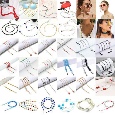AU4.59 • Buy Unisex Eye Glasses Sunglasses Spectacles Eyewear Metal Chain Cord Lanyard Strap