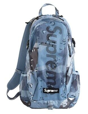 $ CDN272.77 • Buy Supreme Backpack (SS20) Blue Chocolate Chip Camo Deadstock New