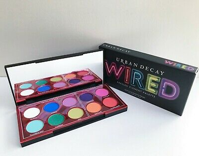 AU49.99 • Buy Urban Decay Wired 10 Color Eyeshadow Palette, Limited Edition, Brand New In Box