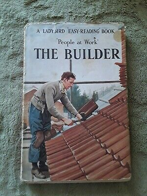 Ladybird People At Work The Builder D/J 2'6 • 3£