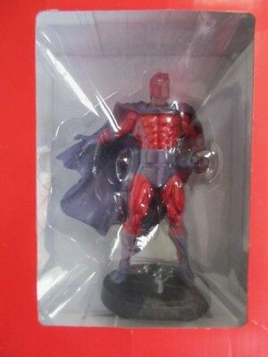 MARVEL FACT FILE COLLECTION SPECIAL ISSUE MAGNETO EAGLEMOSS  FIGURE BOXED 14cm • 10£