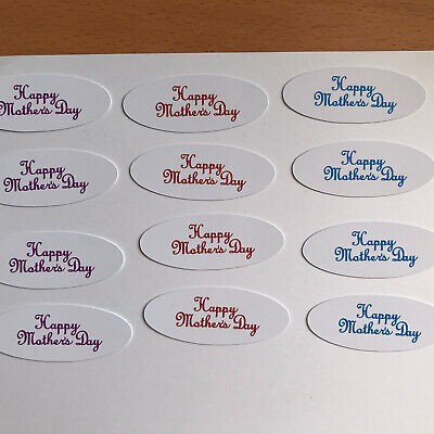 £2 • Buy Card Toppers X 12 X Embellishments/toppers/card Making - Happy Mothers Day