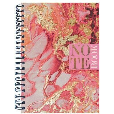 £5 • Buy A4 Wiro Pink Quartz Notebook, Stationery, Brand New