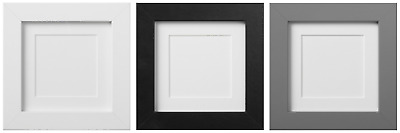 IKEA Ribba Picture Frame Square Photo Display 10x10cm (Pack Of 1/2/4) • 6.49£