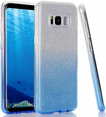 $ CDN7.52 • Buy For Samsung Galaxy S8 Plus Case Glitter Shiny Bling Sparkle Phone Cover