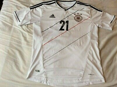GERMANY Home Football Shirt 2012/REUS-21/retro Remake • 9.99£