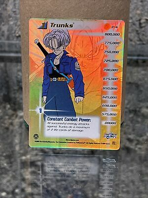 AU25.85 • Buy Dbz Ccg Trunks, Level 1 Hi-Tech Foil Saiyan Saga Redemption P14 Dragonball Promo