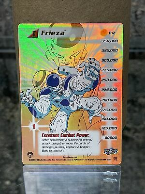 AU20.67 • Buy DragonBall Z DBZ CCG Limited Frieza Saga Frieza Hi Tech #P12 Level 1 Personality