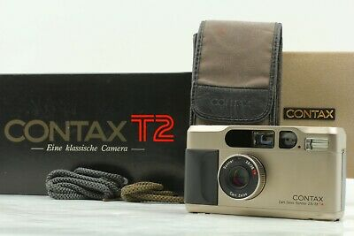 $ CDN1139.39 • Buy 【 ALMOST MINT 】 Contax T2 35mm Point & Shoot Silver Film Camera From Japan Y217