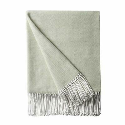 BOURINA Diamond Lattice Bed Decorative Throw Blanket Faux Cashmere Lightweight • 28.99£