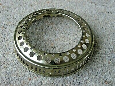 AU14.49 • Buy Vintage Brass 4  Gallery / Shade Support Ring For Oil Lamp Burner