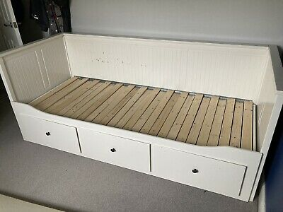 Ikea Hemnes Day Bed With 3 Draws And Mattress • 80£
