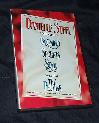 Danielle Steel Collection DVD Set - PALOMINO, SECRETS, STAR, THE PROMISE • 9.04£