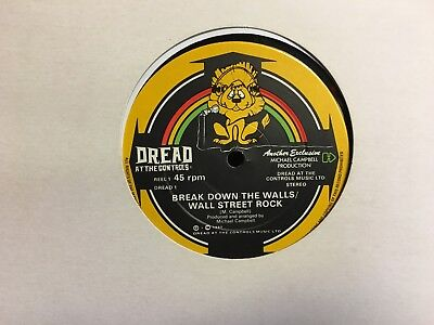 £33.45 • Buy Mikey Dread Break Down The Walls / Jumping Master 12  Dread At The Controls EX