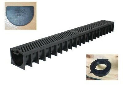 £28.99 • Buy Drainage Channel 6mm DUCTILE IRON GRATING B125 Muffle Drain (10ton To 12ton) 1mt