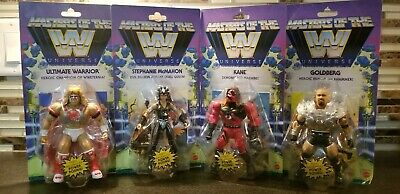 $138.23 • Buy 🔥🔥Masters Of The Wwe Universe Wave 6 Set Of 4 Warrior Kane Goldberg + Steph🔥