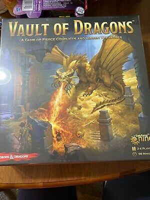 AU22.18 • Buy Vault Of Dragons Board Game Gale Force Nine D&D Dungeons & Dragons